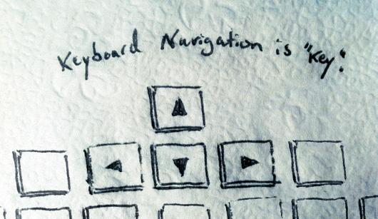 Keyboard Navigation in Blogger Blogs