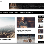 Glossy Blogger Template Theme Download