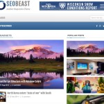 SeoBeast Blogger Template Tablet preview